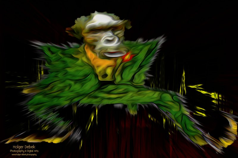 Digital Art - Monkeyman
