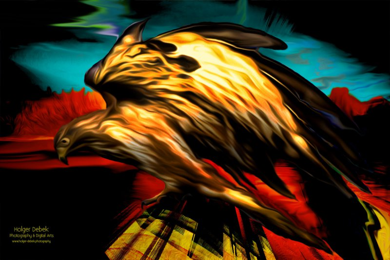 Digital Art - Eagle