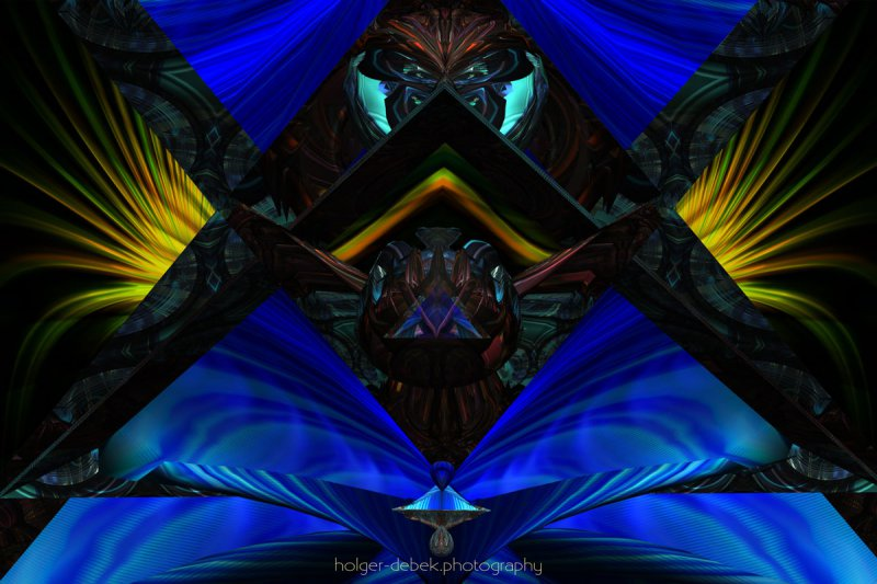 Digital Art - Toltec spirit